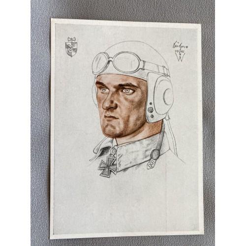 Oberstleutnant Lützow Postcard # 7247