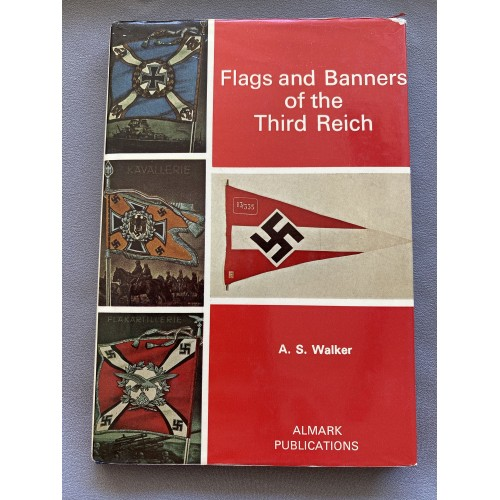 Flags and Banners of the Third Reich Hardcover –1973 # 7283