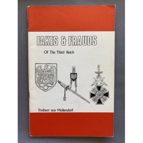 Fakes & Frauds of the Third Reich by Freiherr von Mollendorf # 7306