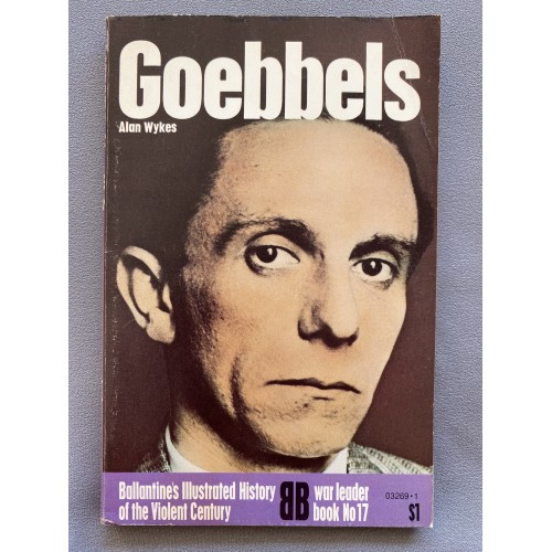 Goebbels by Alan Wykes # 7314