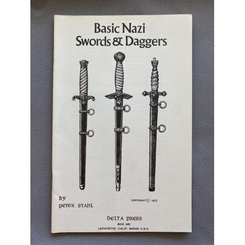 Basic Nazi Swords & Daggers by Peter Stahl # 7324