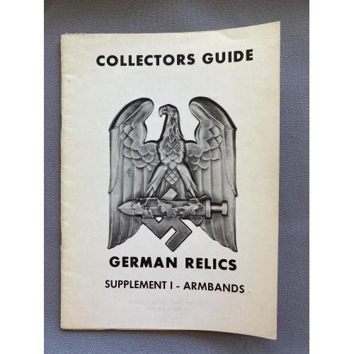 Collectors Guide German Relics Supplement I Armbands # 7329