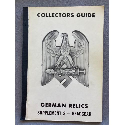 Collectors Guide German Relics Supplement II Headgear  # 7330
