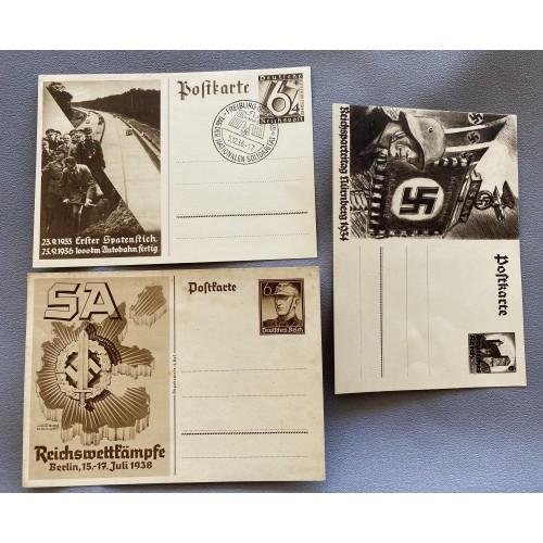 3 Postcards # 7346