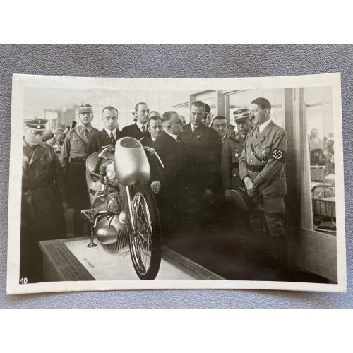 Internationale Automobil und Motorrad Ausstellung Berlin 1936 Postcard # 7363