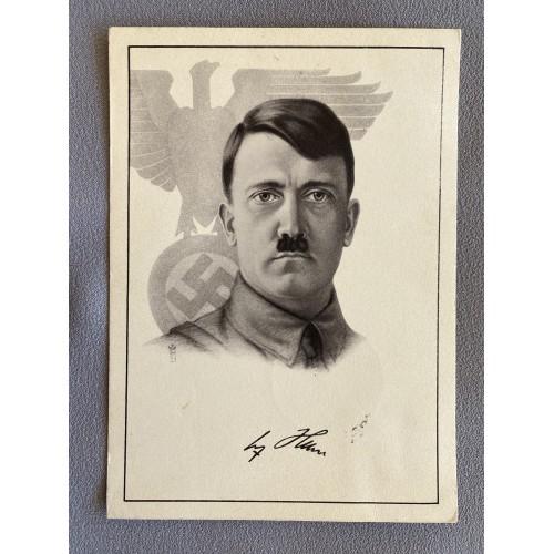 Hitler Postcard # 7378