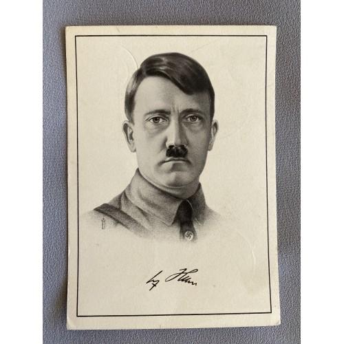 Adolf Hitler Postcard # 7379