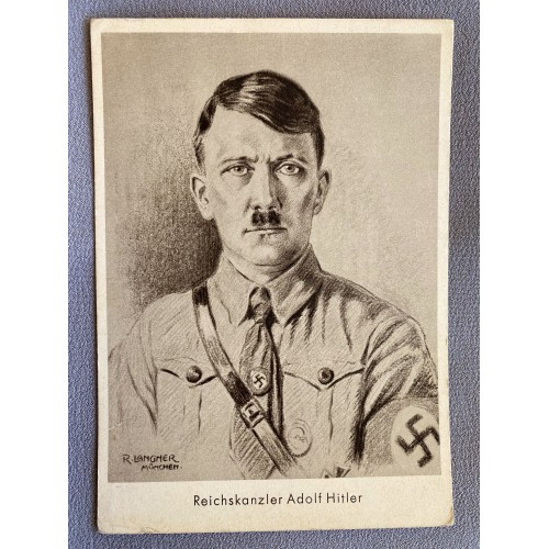 Reichskanzler Adolf Hitler Postcard # 7388