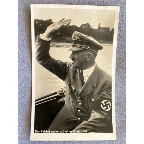 Der Reichskanzler auf einer Rheinfahrt Postcard # 7400