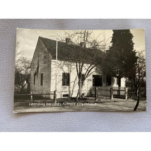 Leonding bei Linz, Führers Elternhaus Postcard # 7438