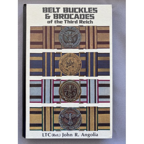 Belt Buckles Brocades Third Reich by John Angolia # 7446