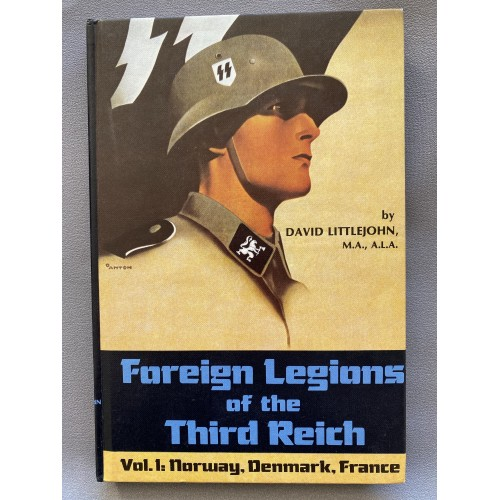 Foreign Legions of the Third Reich Vol. 1 by David Littlejohn # 7476