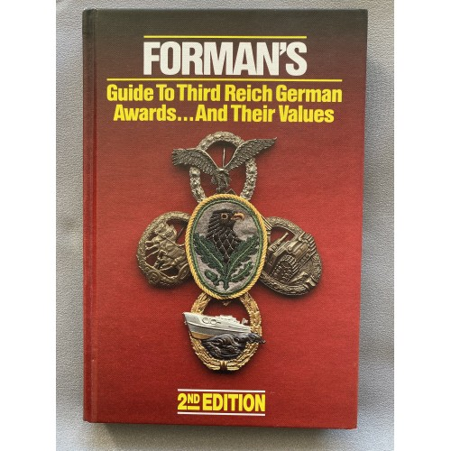 Forman's Guide to Third Reich German Awards and their Values # 7482