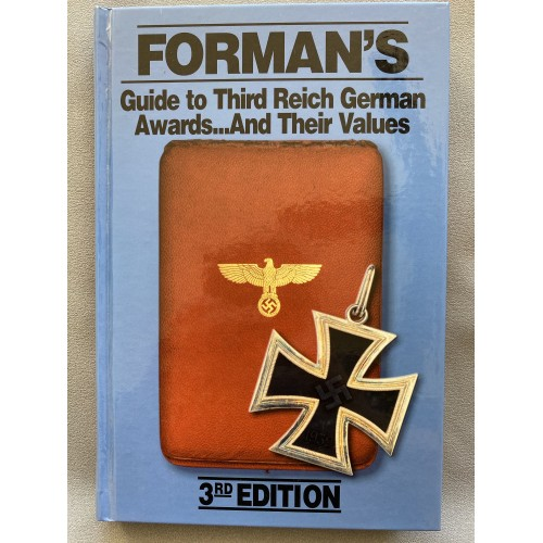 Forman's Guide to Third Reich German Awards and their Values, 3rd edition # 7483