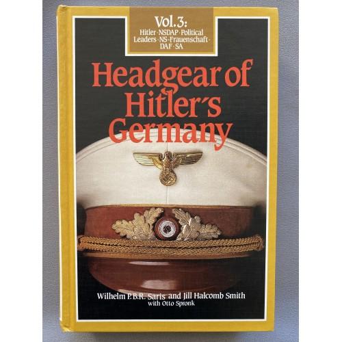 Headgear of Hitler's Germany Vol. 3  # 7498