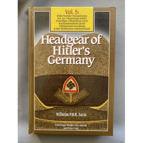 Headgear of Hitler's Germany Vol. 5 # 7500