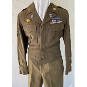 U.S. 71st Division Ike Jacket # 7501