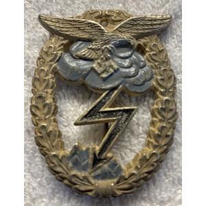 Luftwaffe Ground Assault Badge # 7502