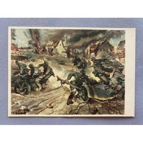 Kradschützen Postcard # 7617