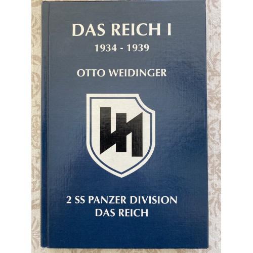 Das Reich 1934-1939 by Otto Weidinger # 7643