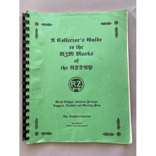 A Collector's Guide to the RZM Marks of the NSDAP # 7657