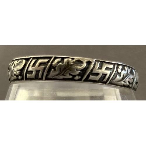 Swastika Ring # 7687