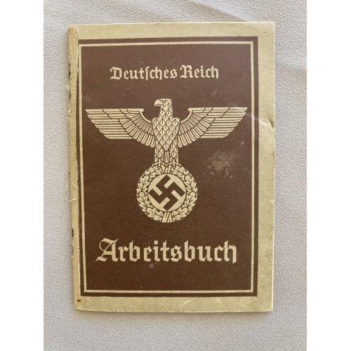 Deutsche Reich Arbeitsbuch # 7703