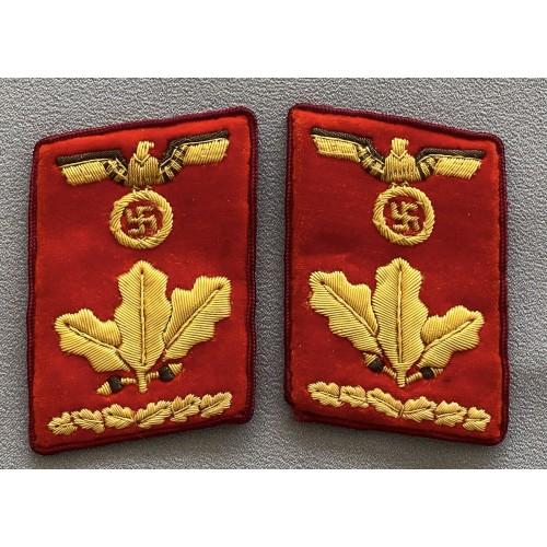 Gauleitung Oberdienstleiter Collar Tabs # 7740