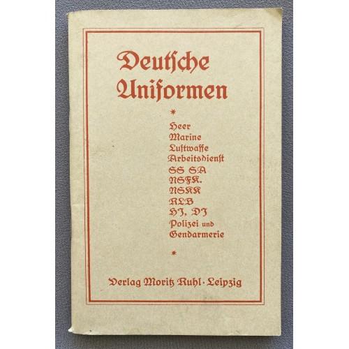 Deutsche Uniformen Verlag Moritz Ruhl Leipzig # 7753