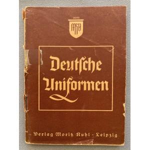 Deutsche Uniformen Verlag Moritz Ruhl Leipzig # 7755