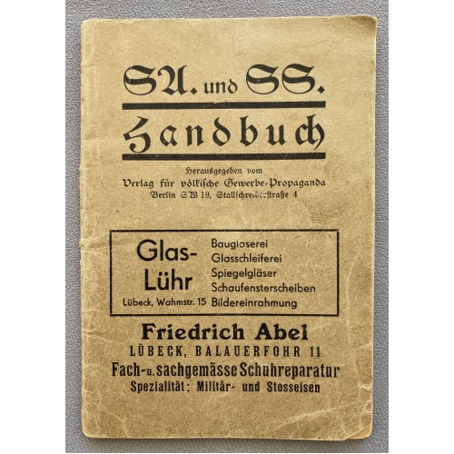 SA. und SS. Handbuch