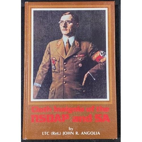 Cloth Insignia of the NSDAP and SA Book # 7765
