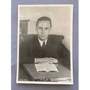 Dr. Joseph Goebbels Postcard # 7776
