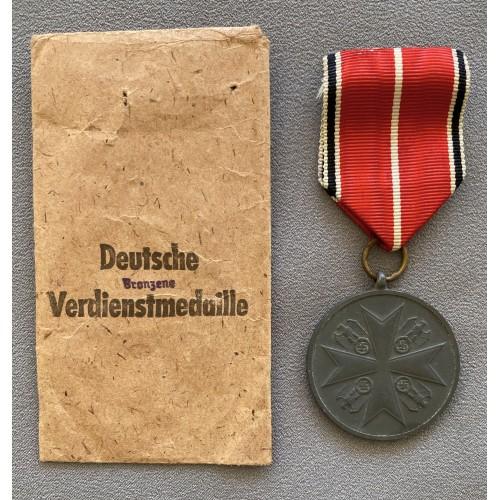 Order of the German Eagle Merit Medal # 7786