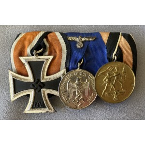 3 Medal Ribbon Bar # 7795