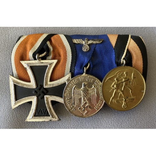 3 Medal Ribbon Bar # 7795