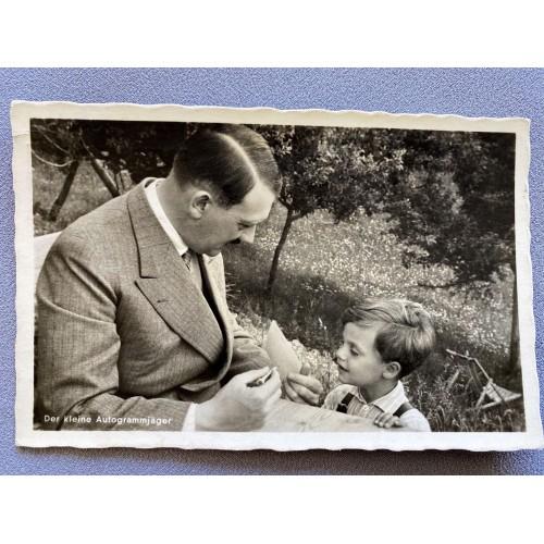 Der kleine Autogrammjäger Postcard # 7838