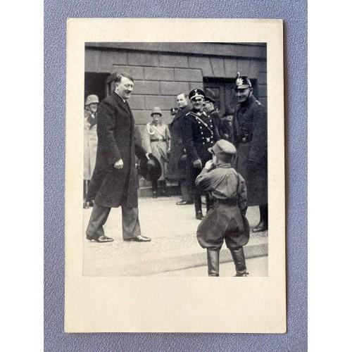 Adolf Hitler Postcard # 7851
