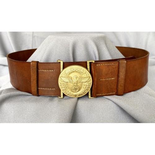 Political Leader's Belt and Buckle # 7855