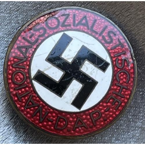 NSDAP Membership Badge # 7863
