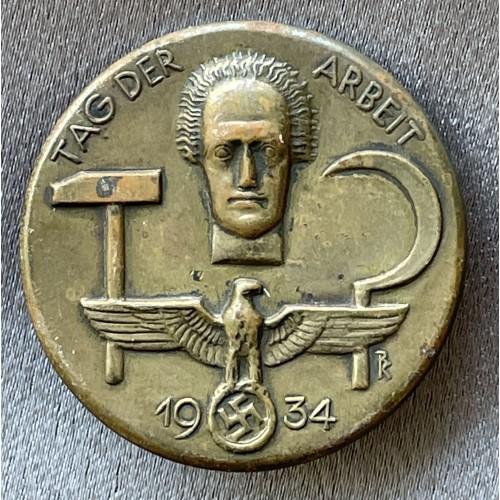 Tag der Arbeit 1934 Badge