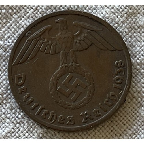 Deutsches Reich 1938 1 Reichspfennig # 7869