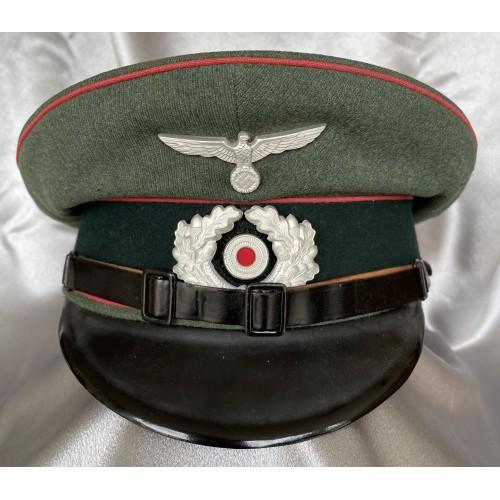 Heer Panzer NCO/EM Visor # 7876