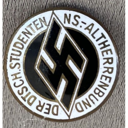 National Socialist German Students League Badge # 7923