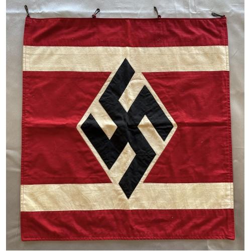 National Socialist German Students League Podium Banner