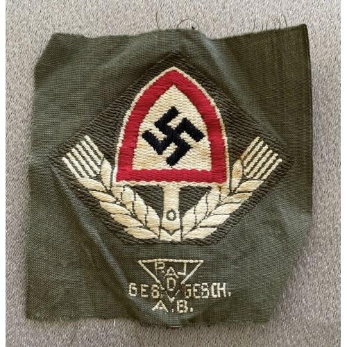 RAD Cloth Cap Badge