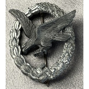 Luftwaffe Air Gunner Badge  # 7957
