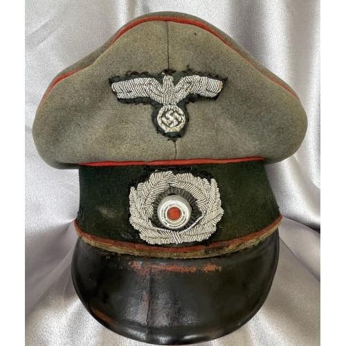 Heer Artillery Officer Crusher Visor # 7964
