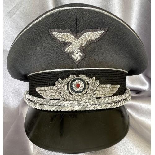 Luftwaffe Officers Visor # 7968
