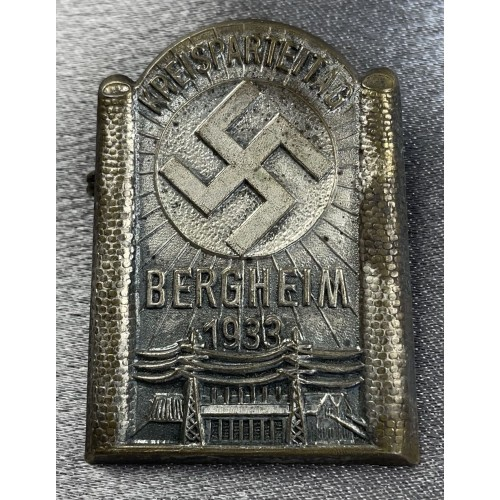 Kreisparteitag Bergheim 1933 Tinnie # 7975